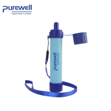 Factory directly availability portable camping purification UF Membrane water filter straw
