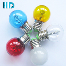 Multicolor B22 E26 E27 led lamp , 1W LED signboard bulb, g45 color vanity mirror led light bulbs with ce rohs
