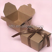 Recyceled Brown Kraft paper gift packaging box for sweater