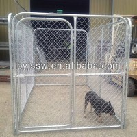 dog proof chain link fence metal