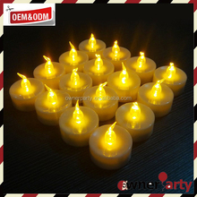 Waterproof Eco Friendly Electronic Decoration Flameless Candle Light Mini Led Tea Light Candle