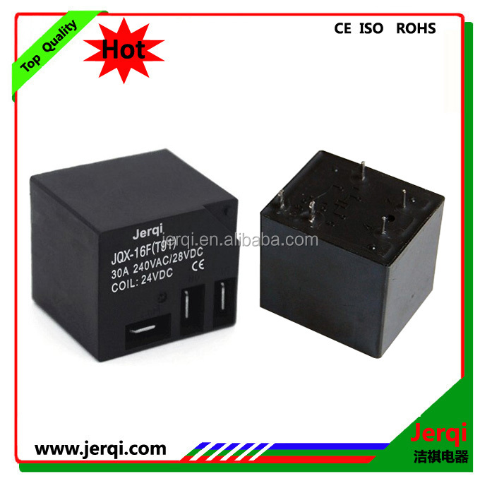 T91 PCB Relay 30A 12V 24VDC 5pinJQX-16F typ sealed power relay