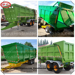 Truck Trailer Use and DOT Certification Strong And Large Capacity Tipping Trailers