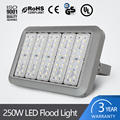 Energy saving CCT3000-6000K Cool white IP67 250W LED flood light with 50000 hours lifetime