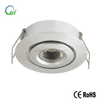 5 year warranty 12V 1W 3W dimmable classic under cabinet led light