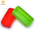 Food-Grade Rectangle Silicone Collapsible Salad Bowl For Traveling