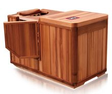 half sauna infrared red cedar cabin warm health digital contral