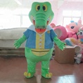 HOLA popular adult crocodile costume for sale/carnival costume