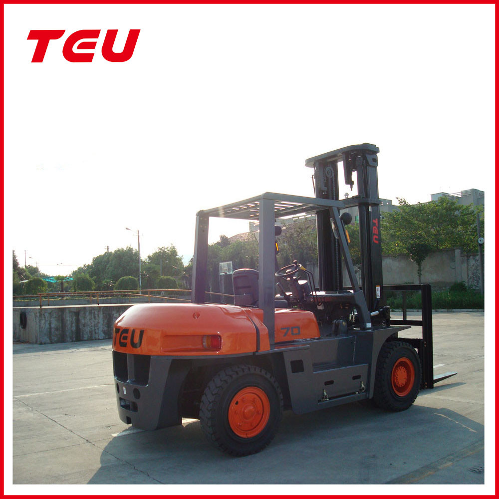 7T Brand New Diesel Forklift with ChaoChai 6102 Chinese Engine