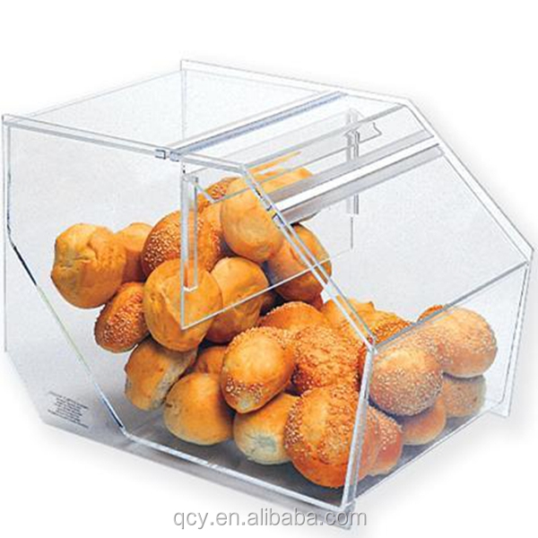multi-shaped clear acrylic candy case with cover