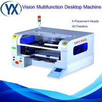 Big Cheap and Stability Smt Automatic PCB Machine With 8 Heads SMT460