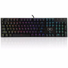 Z88 Brown Switches Mechanical Gaming Keyboard 104 keys Anti Ghosting Compact Wired Gamer Mechanical Keyboards