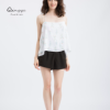 Factory ODM OEM Women Camisole Crop Tops, Elegant Woman white shirt tops