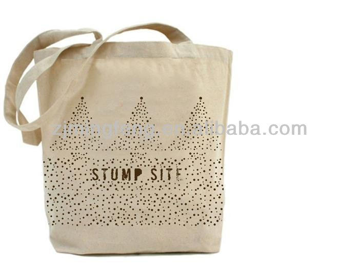 canvas tote bag with gusset