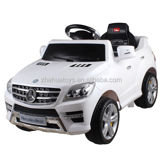 Cheap kid electric ride on car mercedes licensed kids ride on car 6V battery powered