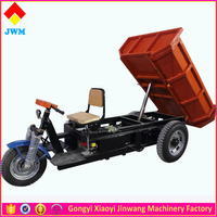 2 ton electric mini dumper, mining dump truck for sale, JWM brand cargo electric tricycle