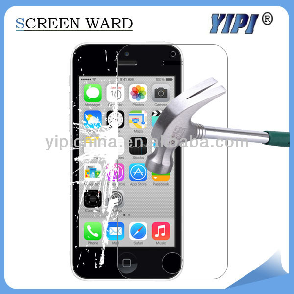 for iphone 5s tempered glass screen protector , thickness 0.18/0.2/0.3/0.4mm