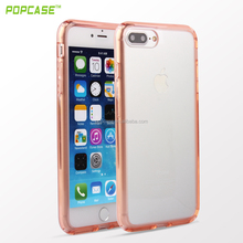 Transparent Strong box phone case ,super clear PC+TPU most hot sell phone accessories for Iphone7 plus