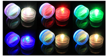 Waterproof LED Candle Wedding Decoration Submersible Floralyte LED Tea Lights Party Decoration LED Floral Light