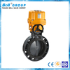 Pneumatic PVC Water Butterfly Valve / Gas and Oil Valves
