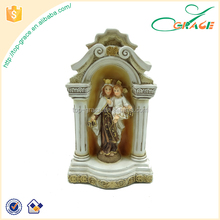 hot selling resin mary baby jesus statue