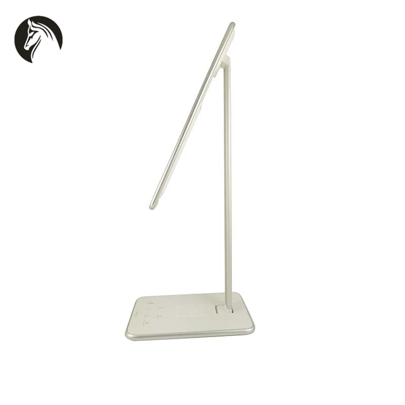 Hot Sale Brand Smart Folding Desk Light 3 Color LED Table Lamp With wireless charger