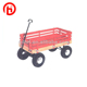 Cheap wooden fence garden tool cart TC1832 for kid or children