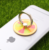 Custom colorful 360-degree rotation acrylic cheap cute mobile phone ring holder