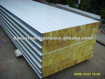 Rockwool insulated sandwich panels uae india qatar for Rockwool insulation panels