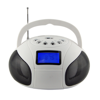 Colorful LCD screen best loud portable speakers with fm radio