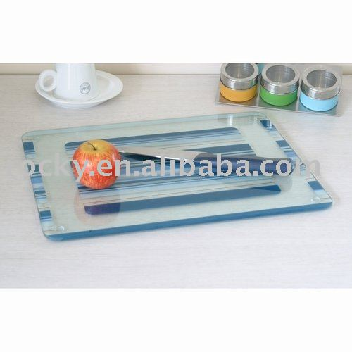 Tempered glass cutting board 4mm 5mm 6mm Tempered glass cutting boards