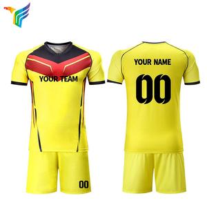 7066092dd China Sublimated Blank New Model Kids Custom Football Shirts Maker Team Set Soccer  Jersey