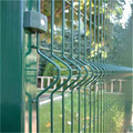 PVC coated welded wire fence panels