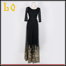 China Supplier Dubai Party Wear Women Evening Dress For Muslim Women
