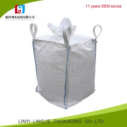 high quality 100% raw material 1000kg bulk bag 1 ton rice bag/pp jumbo bag