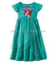 TF-04150814045 2015 high quality children children dress Nightgown Princess Arie