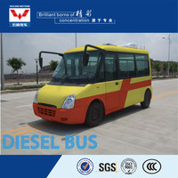 hot selling humanized design energy saving city bus