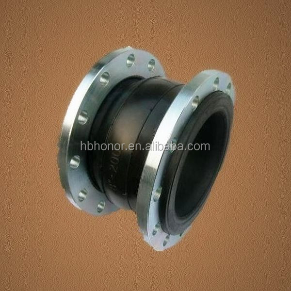 PVC flanges flexible rubber joint for pipe fittings