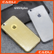 new arrival oem diamond pattern silicone TPU phone case for iPhone 6 plus