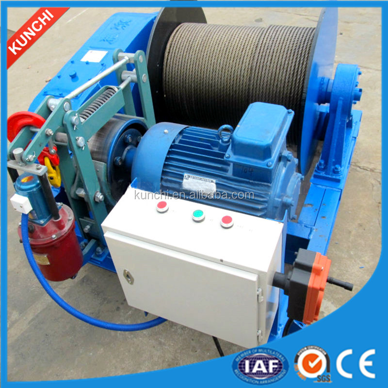 Hot sale 1Ton,2Ton,3Ton,5Ton,8Ton,10Ton,12Ton electric winch