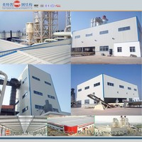 prefabricated steel structure warehouse/building/factory