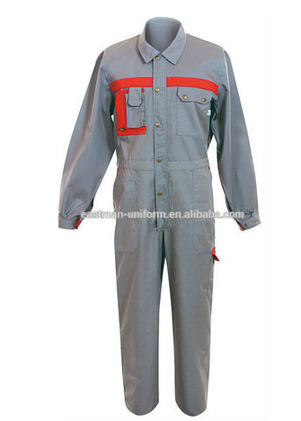 Custom Made Coverall Style Work Clothes Wholesale