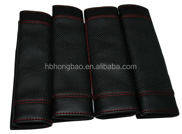 High Quality Artificial Leather Popular Interior Car Seat Belt Shoulder Pads