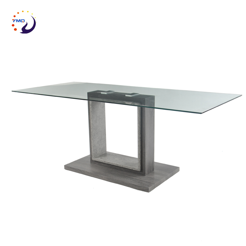 new designs cheap price glass top dining <strong>table</strong> kitchen <strong>table</strong>