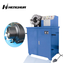 "3 years warranty Henghua 2"" DSG250 high stand style industrial pipe hydraulic swaging machine"