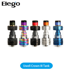Long Lasting Time Best Tank for 70-90W Newest Uwell Crown 3 E cigarette