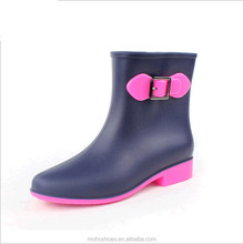 Wholesale short rain boots womenplastic boots for rainwholesale