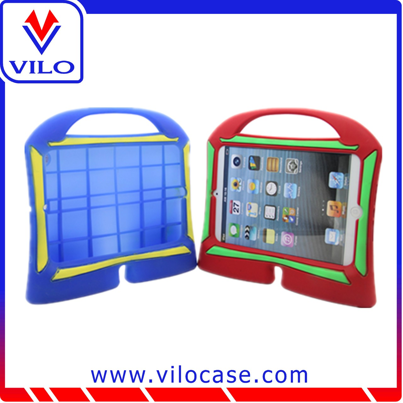 10.1inch shockpeoof kid proof tablet pc case for ipad