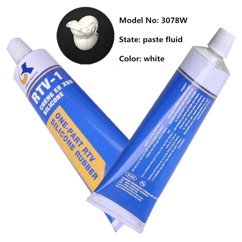White Thermal Conductivity Silicone Paste Adhesive for electronic element