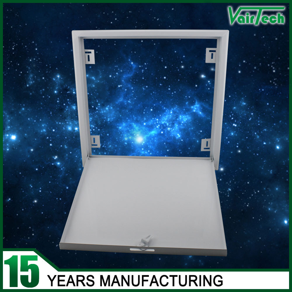 white powder coated galvanized steel Inspection hatch for drywall maintenance